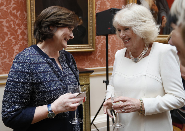 Duchess+Cornwall+Hosts+Reception+Buckingham+Z5LwHTNSyKJl