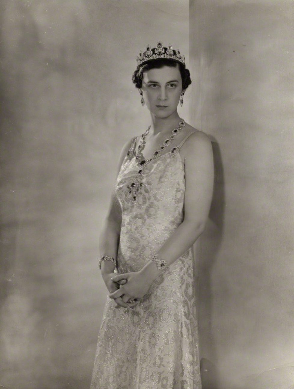 NPG x135725; Princess Marina, Duchess of Kent by Peter North