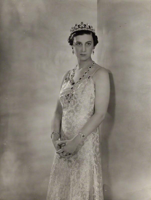 NPG x135725; Princess Marina, Duchess of Kent by Peter North