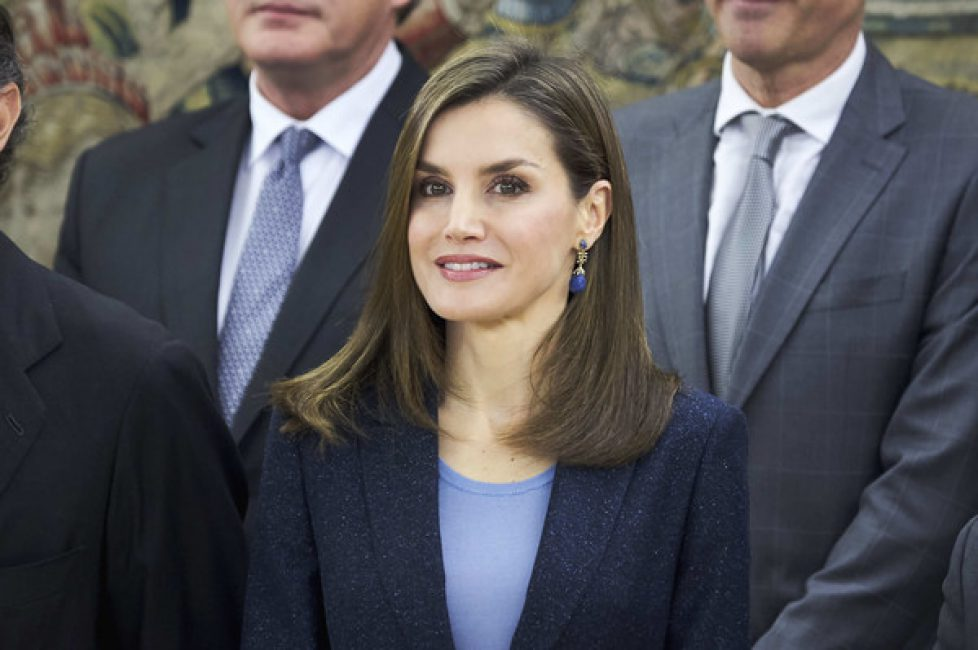 Queen+Letizia+Attends+Audiences+Zarzuela+Palace+TFL_He9VP4il