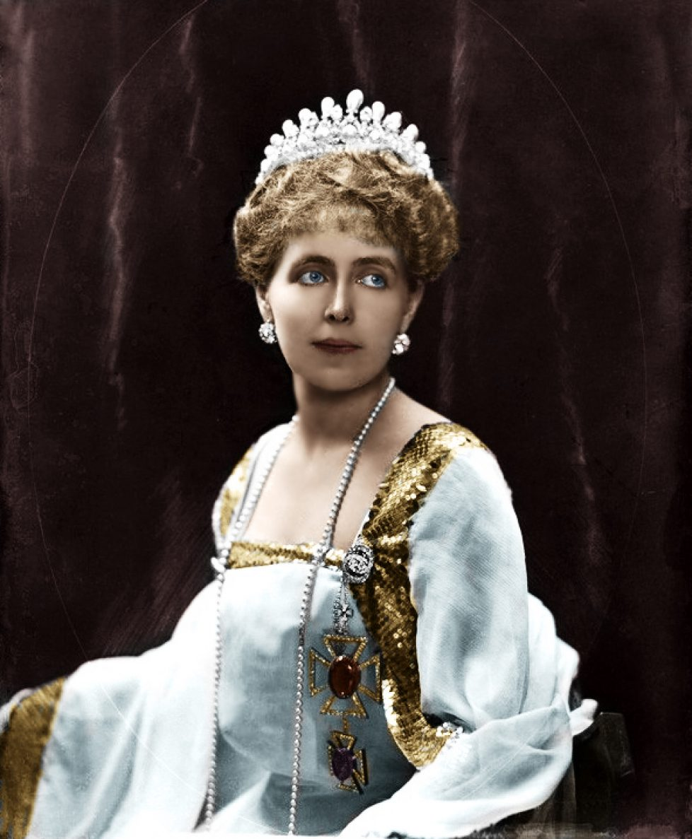 NPG x81689; Marie, Queen of Romania by Henry Walter ('H. Walter') Barnett
