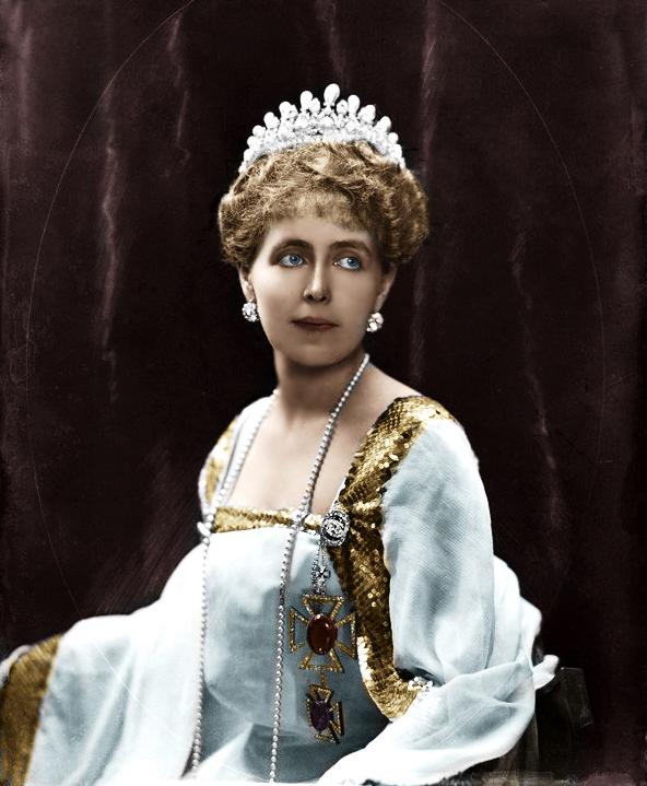 NPG x81689; Marie, Queen of Romania by Henry Walter ('H. Walter') Barnett