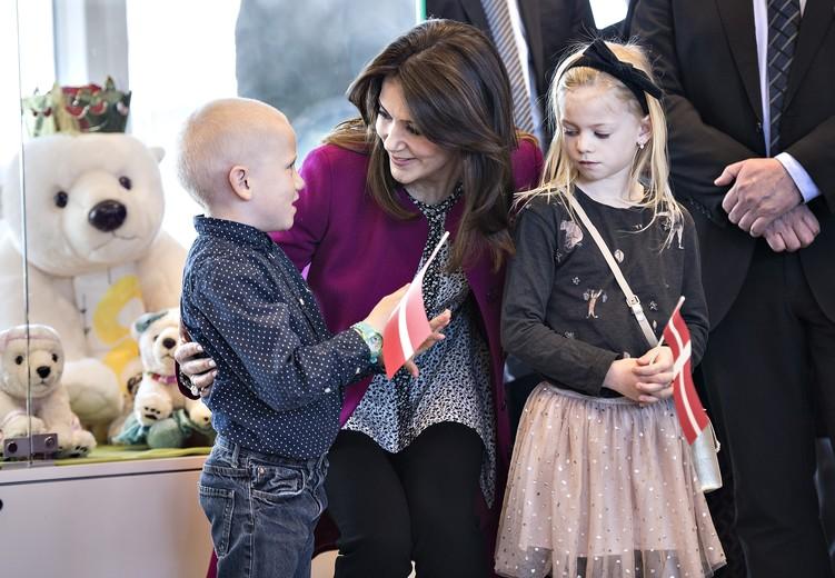 Kronprinsesse Mary indvier udvidelsen af Trygfondens Familiehus ved Aarhus Universitetshospital, Kronprinsesse Mary, Kronprinsessen