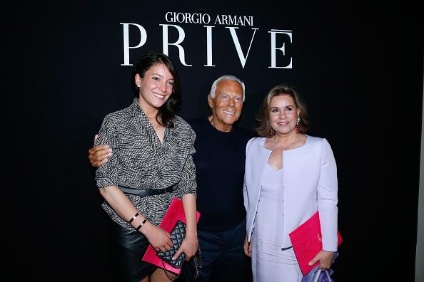 Giorgio Armani Prive : Backstage - Paris Fashion Week - Haute Couture Fall/Winter 2015/2016
