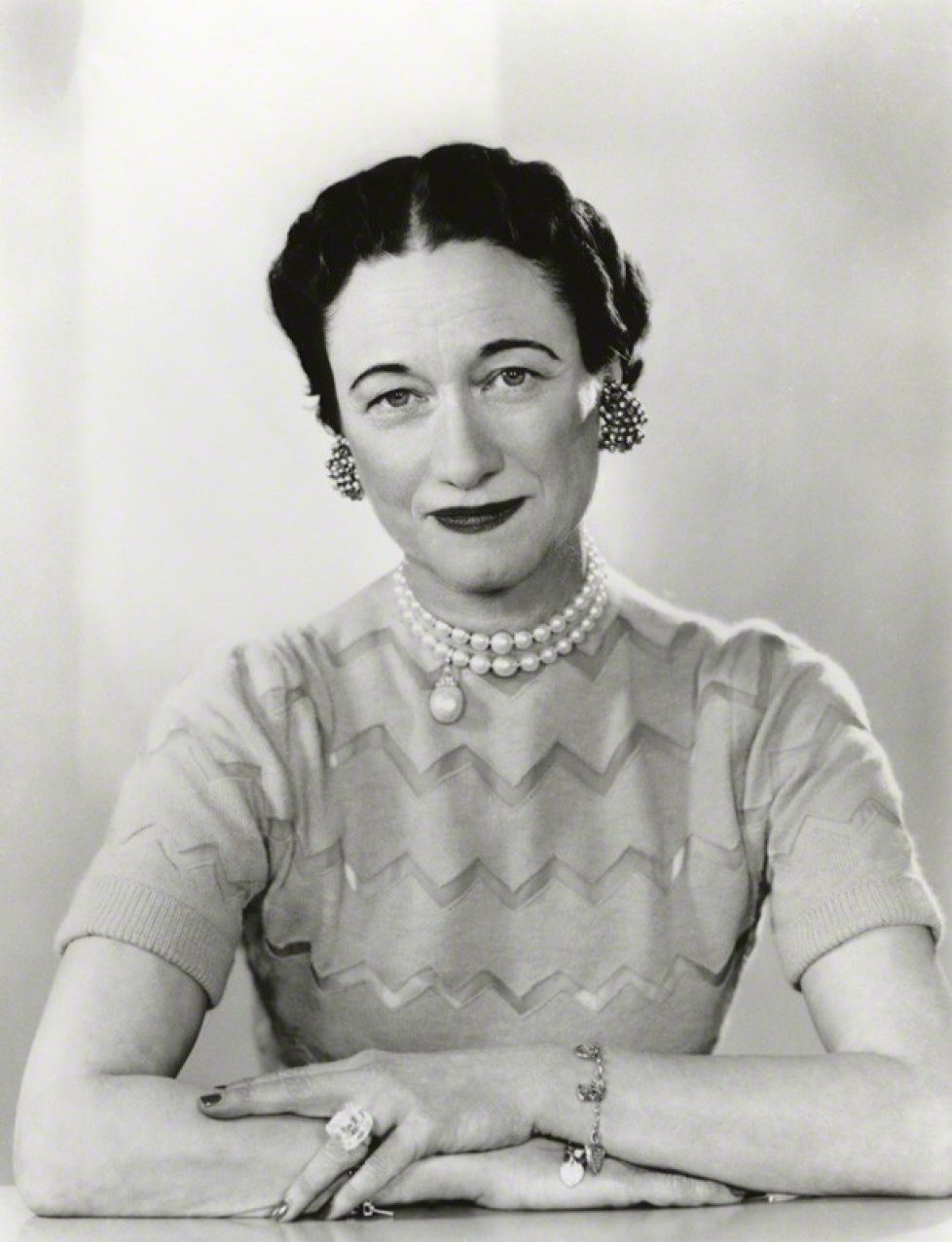 NPG x29433; Wallis, Duchess of Windsor by Dorothy Wilding