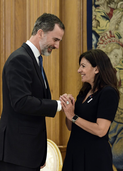 King+Felipe+Spain+Meets+Anne+Hidalgo+WjXV-1uKMYCl