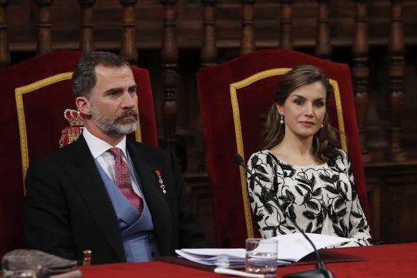 Spanish+Royals+Deliver+Miguel+De+Cervantes+Sr3HzBZzv6dl