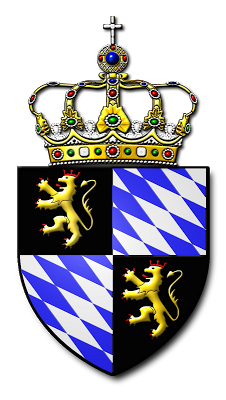 Wittelsbach Arms - Art of Heraldry - Peter Crawford