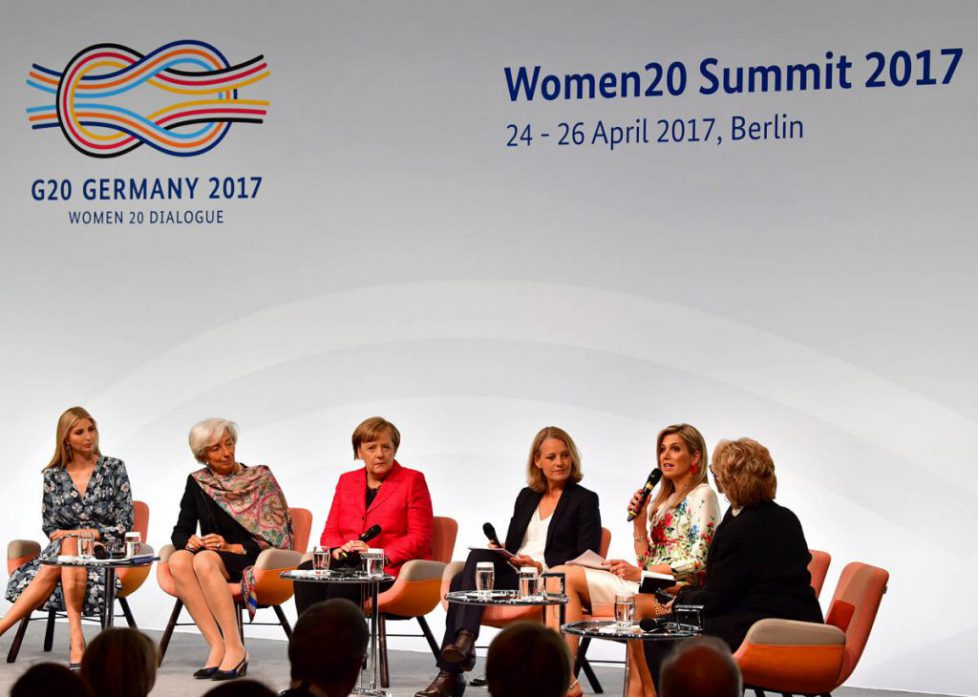 Maxima in paneldiscussie tijdens Women20 Summit