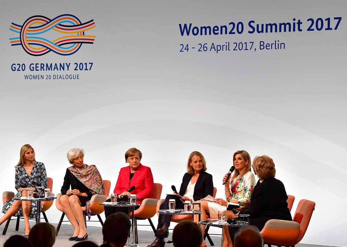 Maxima in paneldiscussie tijdens Women20 Summit