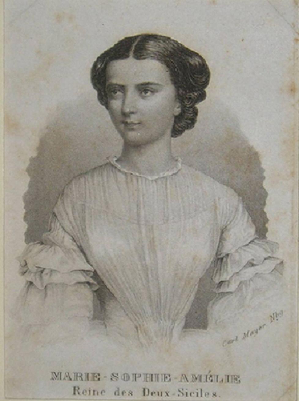 1 Jeune reine des Deux-Siciles