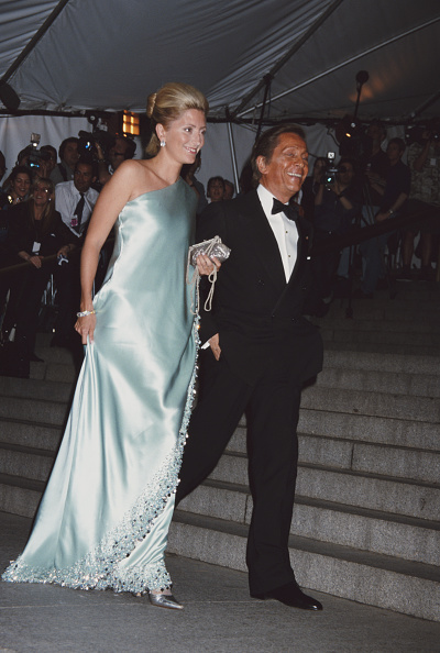 Valentino Garavani and Princess Marie-Chantal of Greece