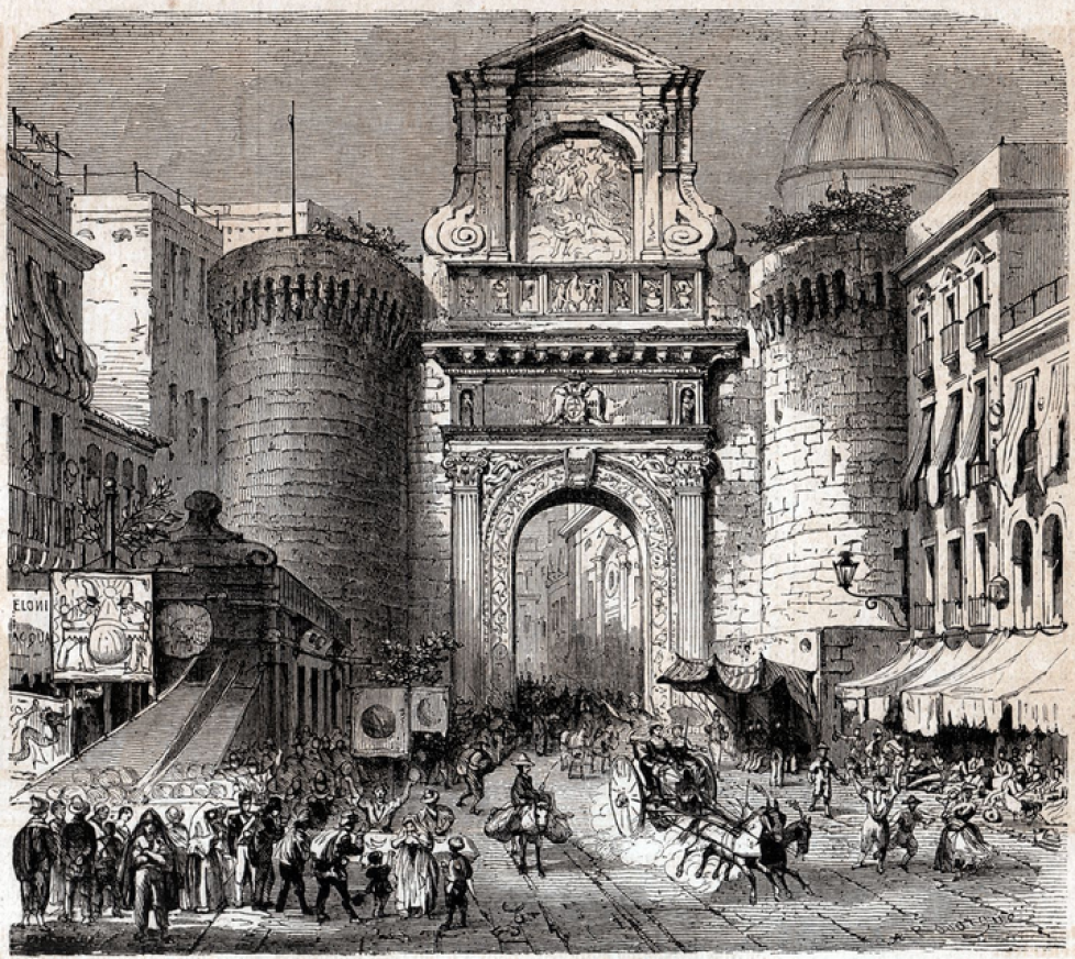 1 Naples Porte Capuane