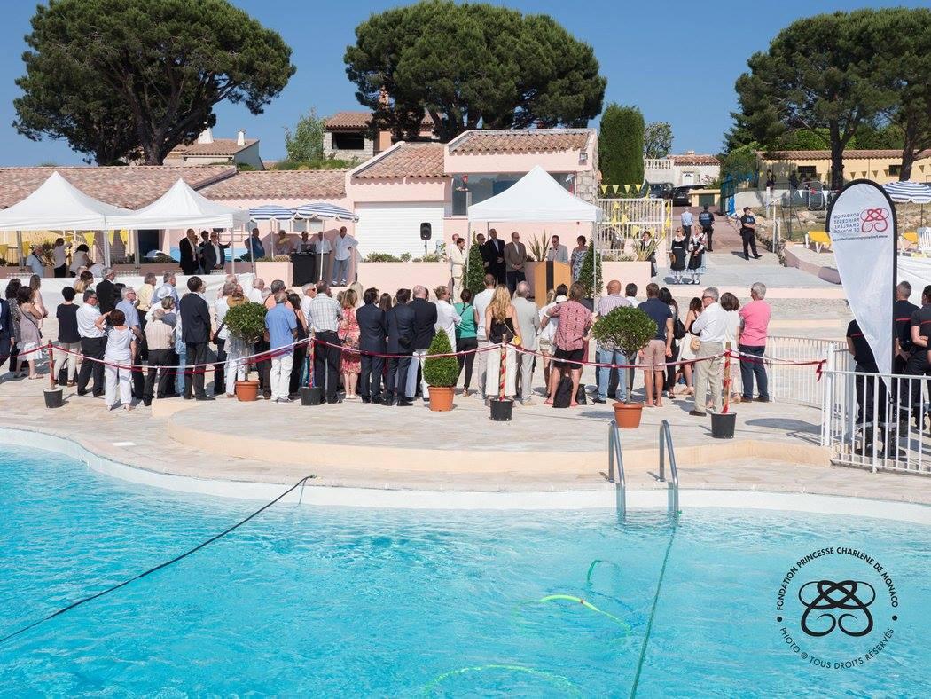 Inauguration de la piscine municipale princesse charl ne for Piscine municipale 06