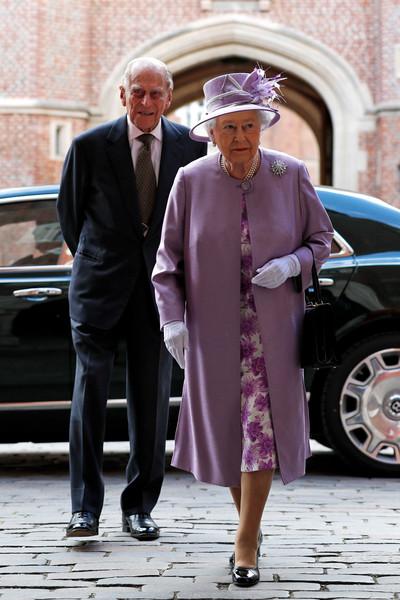 Queen+Duke+Edinburgh+Attend+Evensong+Celebration+u0LZRqmTEhOl