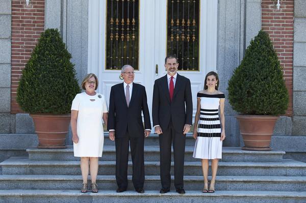 Spanish+Royals+Receive+President+Peru+Wife+YN0pEk_IEtPl