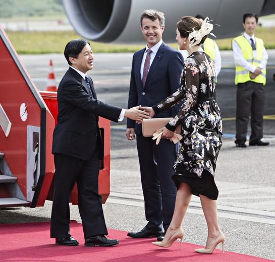 Officielt besøg fra Japan: Modtagelse i lufthavnen/Har akk. Kenneth Lysbjerg Koustrup