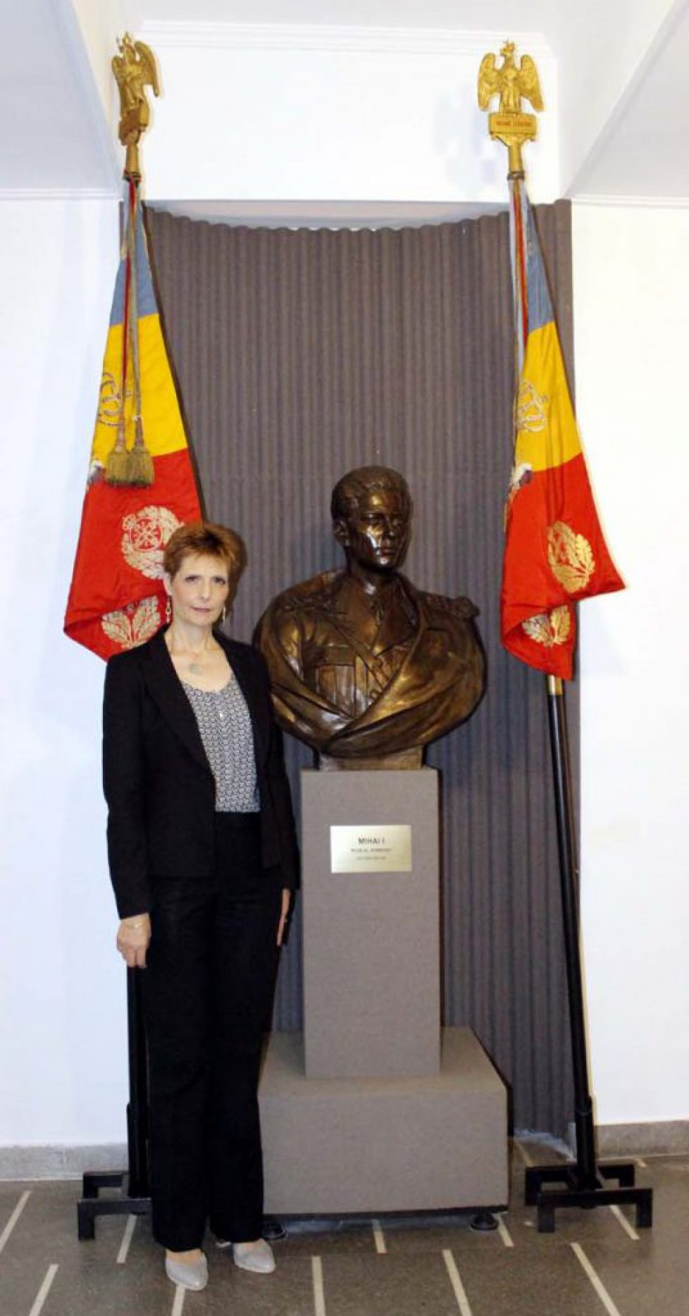 """Principesa-Maria-vizită-la-Muzeul-Militar-Național-""""Regele-Ferdinand-I""""-26-iulie-2017-2"""