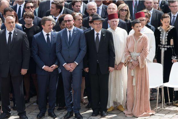 Lalla Meriem Du Maroc Aux Funerailles De Simone Veil Noblesse