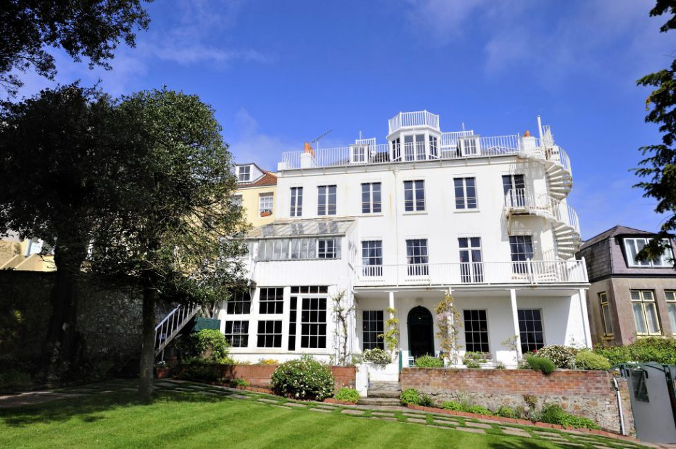 Hauteville House where Victor Hugo Stayed while he was in exile  St Peter Port, Guernsey, Channel Island, UK