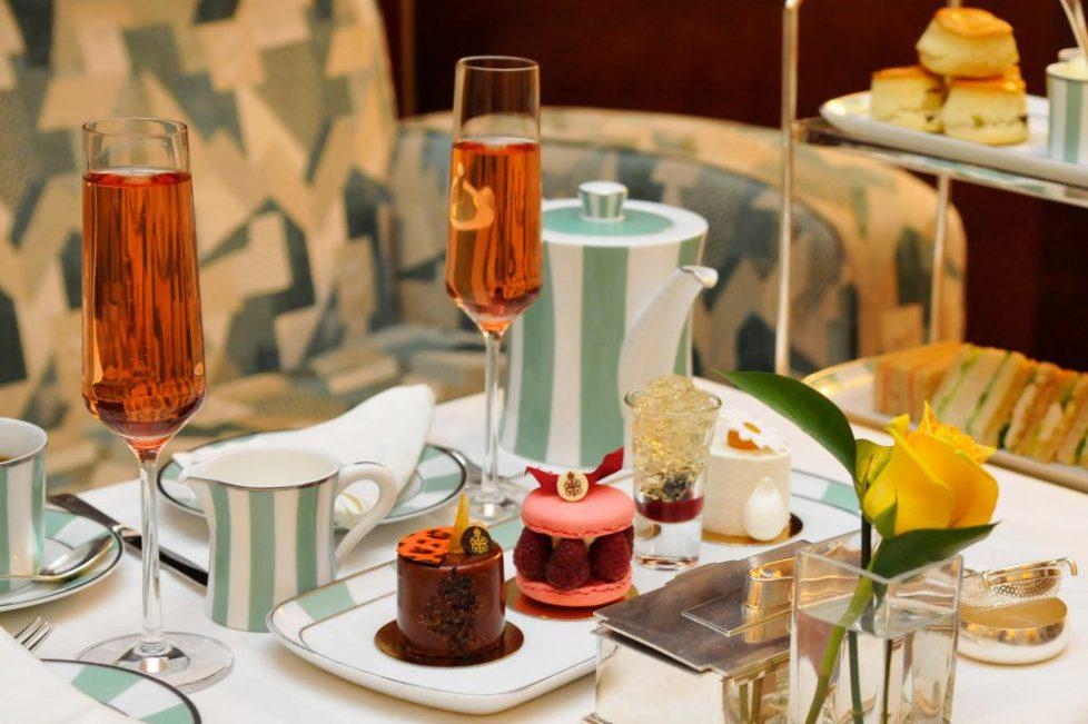 Afternoon Tea at Claridges, London, England, UK