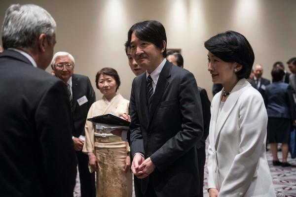 Japan+Prince+Akishino+Princess+Kiko+visit+FTU5QebpaT1l