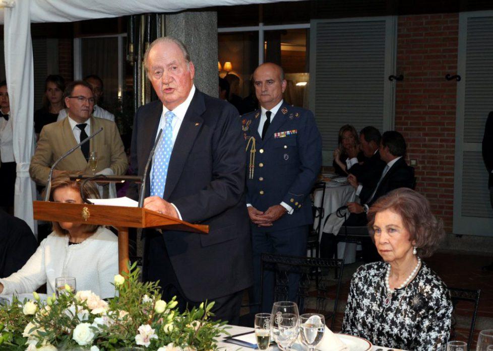 Su Majestad el Rey Don Juan Carlos durante su intervención