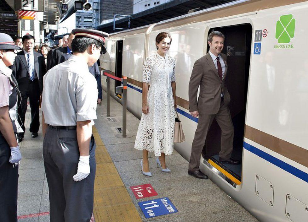 Kronprinsparret i Japan - besøg i landskabshaver, Kronprinsparret