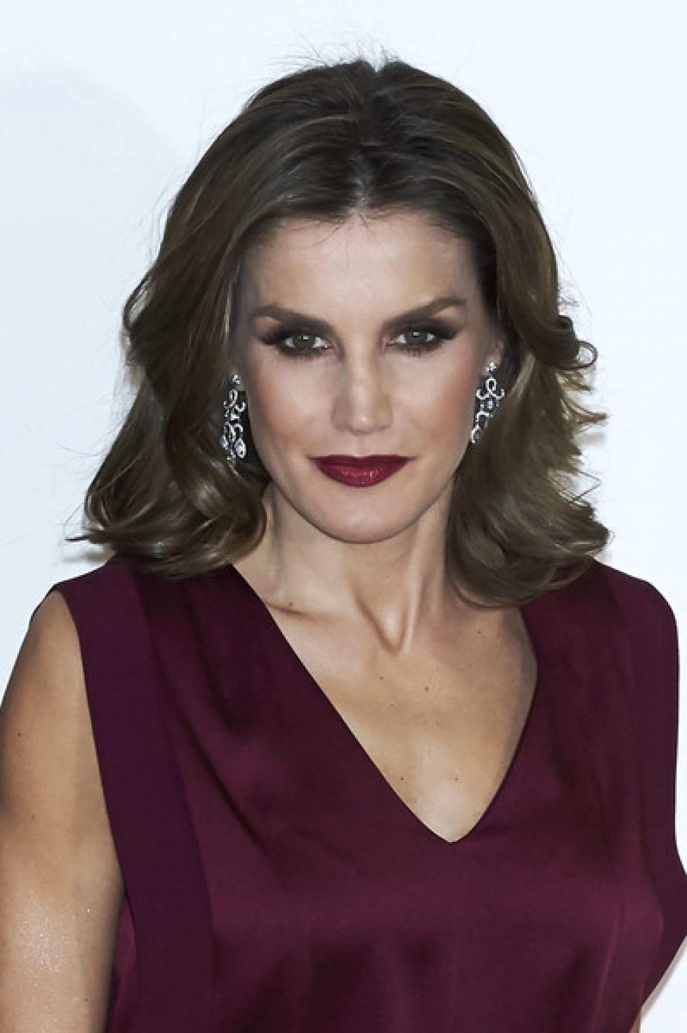 Spanish+Royals+Attend+Dinner+Honouring+Journalism+cKzBbt681dQl