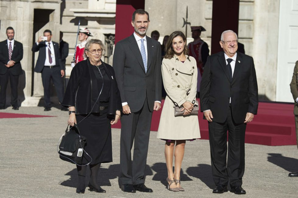 Spanish+Royals+Receive+Israel+President+Royal+zdIAOchr3EAl