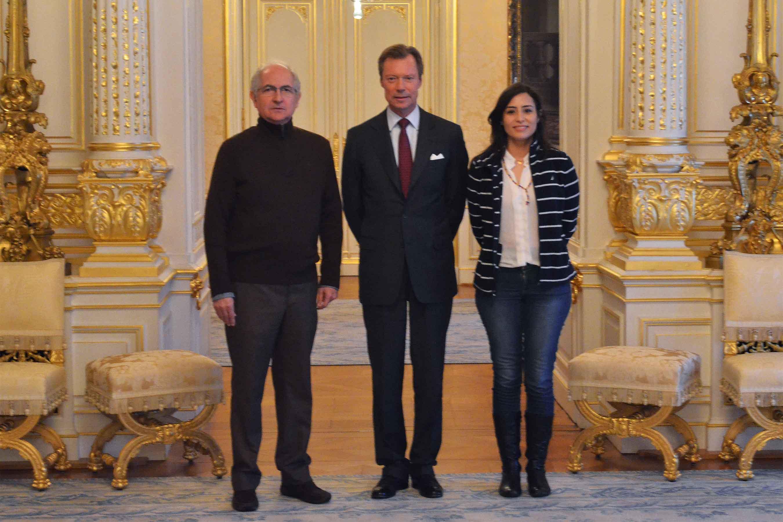 henri de luxembourg re oit les laur ats 2017 du prix sakharov noblesse royaut s. Black Bedroom Furniture Sets. Home Design Ideas
