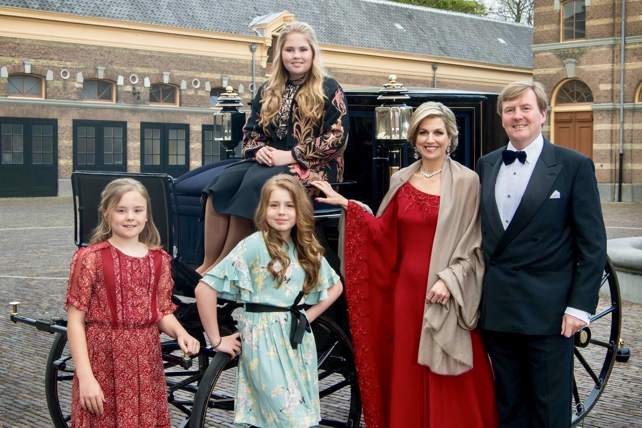 noel 2018 famille royale anglaise Photo de Noël de la famille royale des Pays Bas   Noblesse & Royautés noel 2018 famille royale anglaise