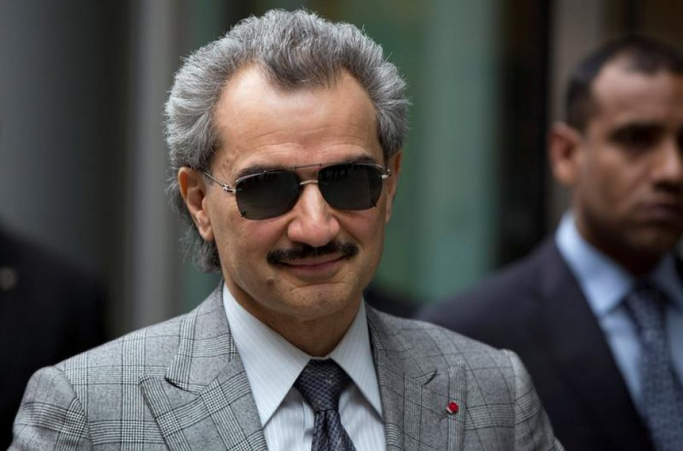 FILE PHOTO - Saudi Arabian Prince Alwaleed bin Talal leaves the High Court in London