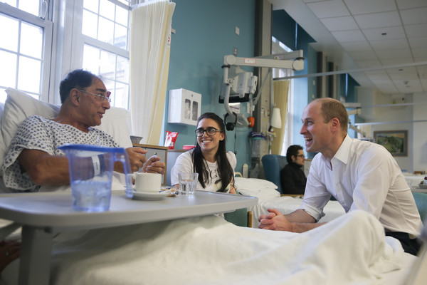 Duke+Cambridge+Visits+Royal+Marsden+NHS+Foundation+Z3xuti5niKrl