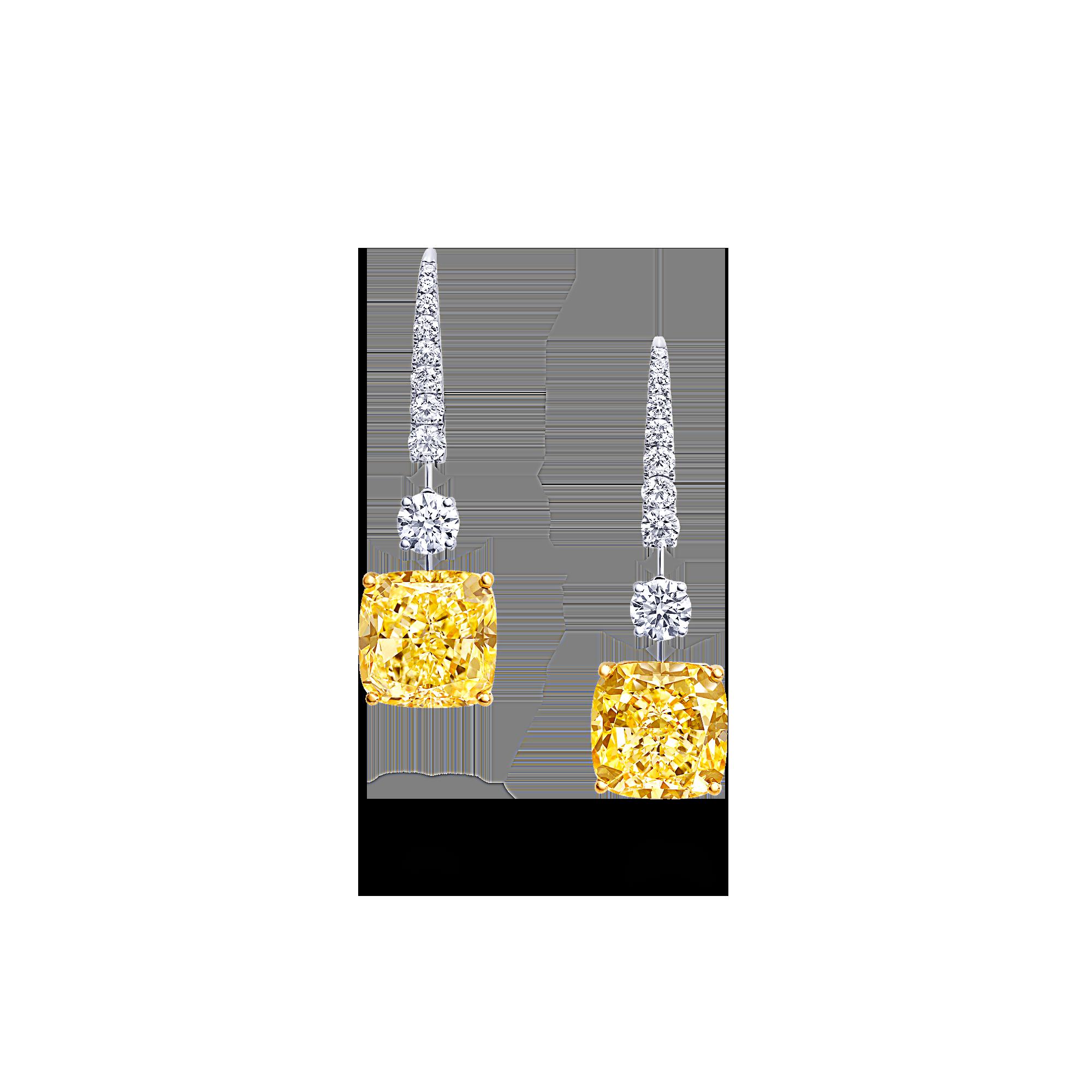 Classic-Graff-Cushion-Cut-yellow-and-white-diamond-earrings-GE25418-2000x2000-1