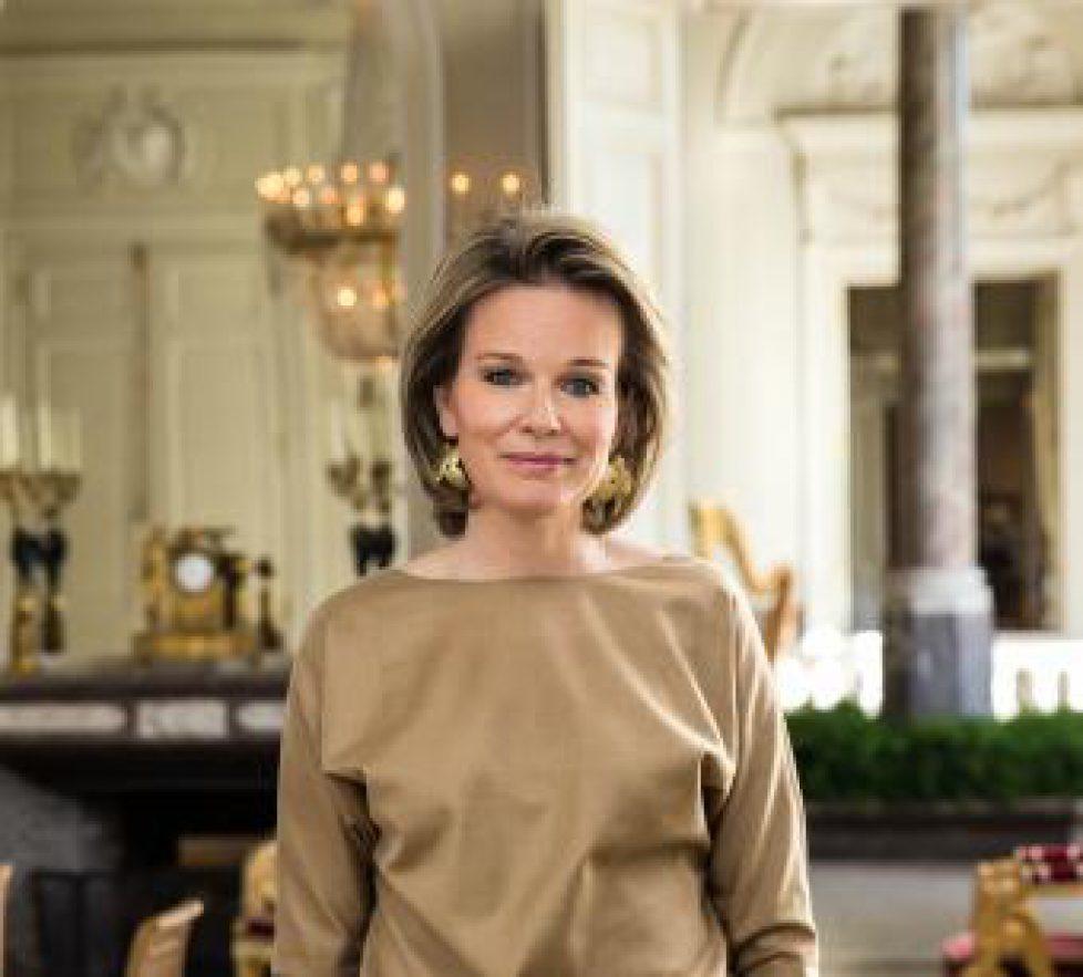 La Reine Mathilde Attire L Attention Sur Le Cyber Harcelement Noblesse Royautes
