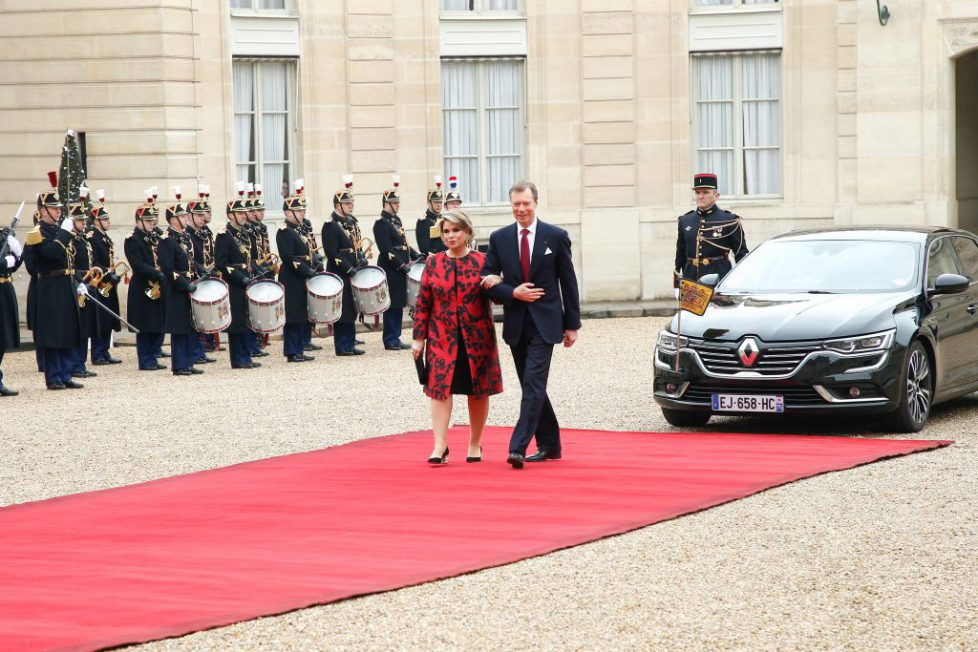 Official Visit Of Grand-Duc Henri Of Luxembourg and Grande-Duchesse Maria Teresa Of Luxembourg : Day Two