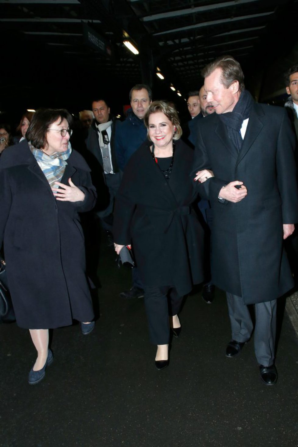 Official Visit OF Grand-Duc Henri Of Luxembourg and Grande-Duchesse Maria Teresa Of Luxembourg : Day One