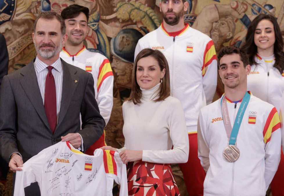 Spanish+Royals+Receive+Olympic+Team+Zarzuela+NSC9FNbLXghl