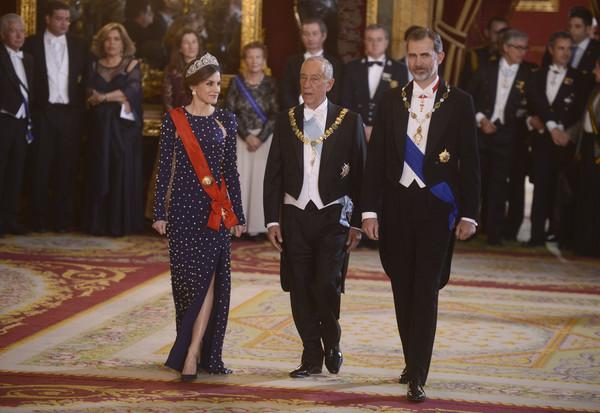 Spanish+Royals+Host+Dinner+Gala+President+Giax7EHwYN_l