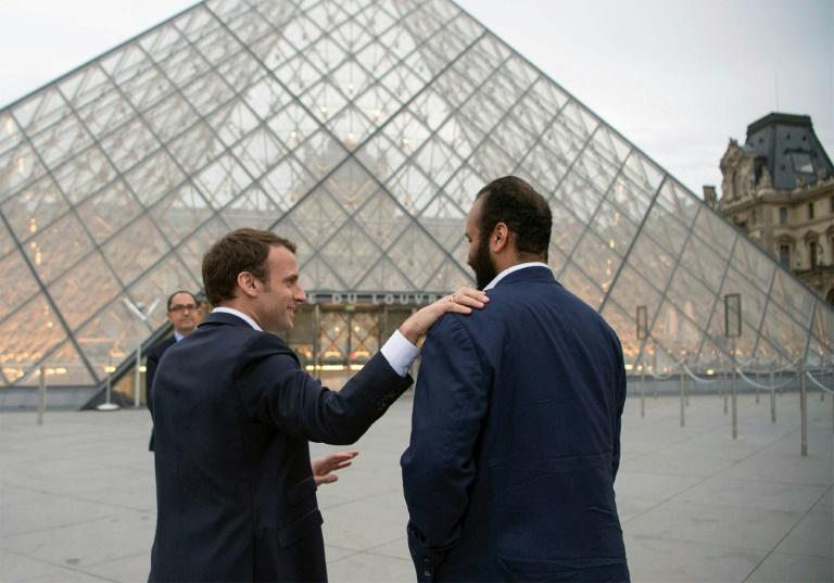 le-president-emmanuel-macron-et-le-prince-heritier-saoudien-mohammed-ben-salma