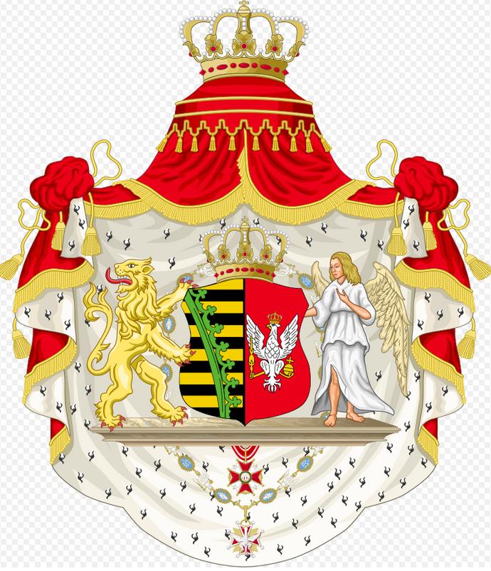 1 - Armes du duché de Varsovie (1807-1815)