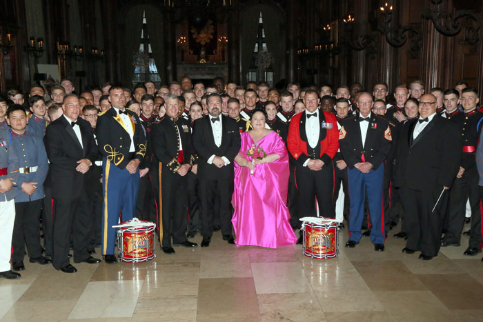 D31L4368-The-Valley-Forge-Military-Academy-&-College-with-Their-Imperial-Highnesses-The-Grand-Duchess-Maria-and-her-son-The-Grand-Duke-George-of-Russia