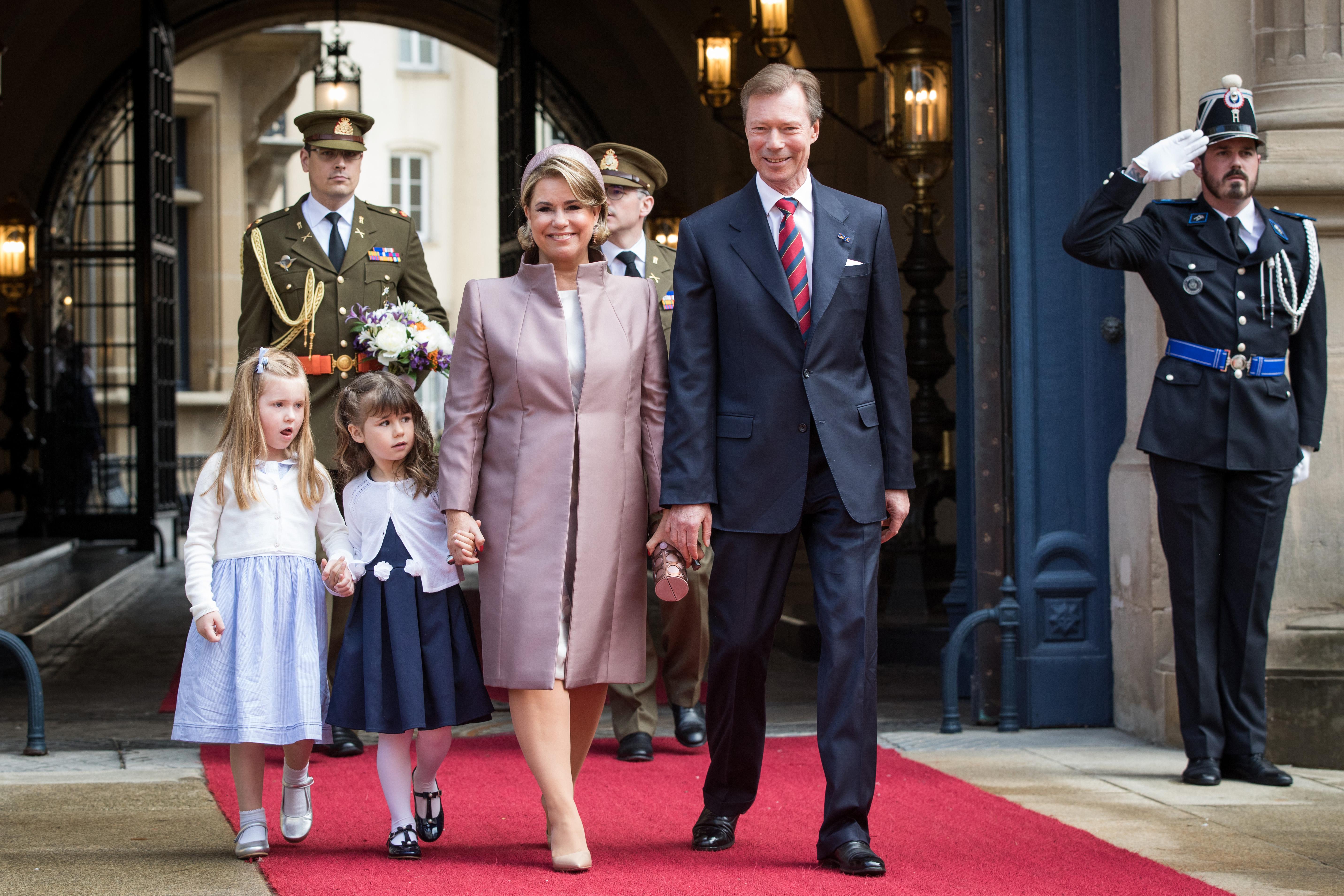 Accueil du Couple Royal néerlandais