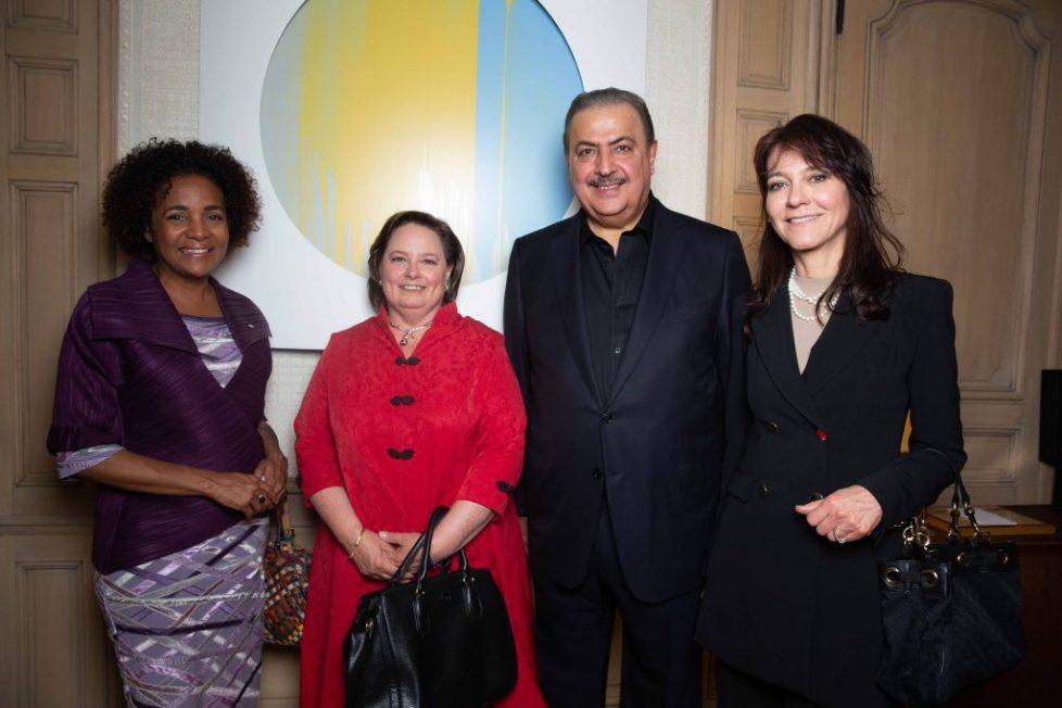 Michaëlle Jean, Secretary General of La Francophonie, Princess Sophie of Romania, Sheikh Rashid Al Khalifa, Princess Ede
