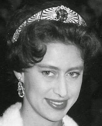 Sapphire & Diamond Bandeau () Queen Mary here Princess Margaret 2