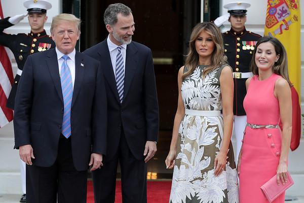 President+Trump+Hosts+Spain+King+Felipe+Queen+aoIHicB62_Zl