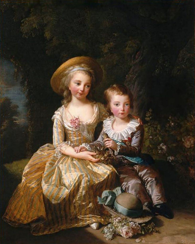 800px-Marie_Antoinette_Children