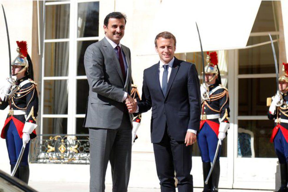 Macron-Qatar