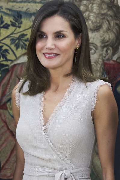 Queen+Letizia+Spain+Attends+Audicences+Zarzuela+hdKgxgfHSael